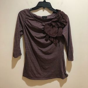 Anthropologie Deletta Size Small Floral Detail top